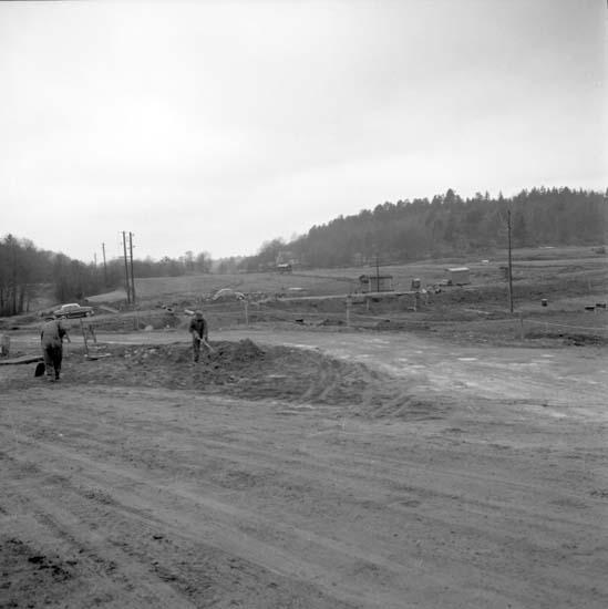 """Enligt notering: """"Nytt bostadsområde på Bleket 28/4 -58""""."""