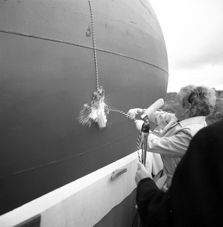 Dop av M/T Wind Endeavour