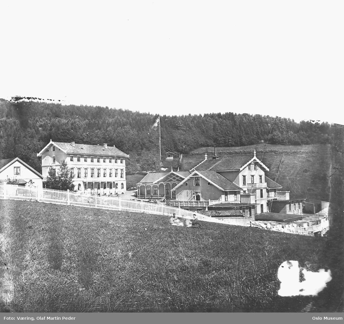 Grefsen sanatorium, kulturlandskap, skog