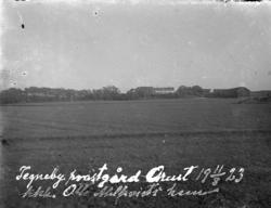 Tegneby prästgård 1923