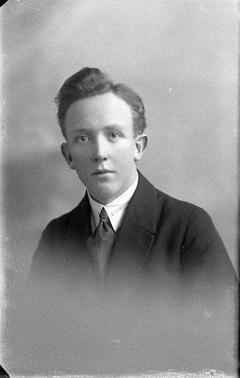 "Enligt fotografens journal nr 1 1904-1908: ""Andersson Herman Ö. Röd (Hjälteby)""."
