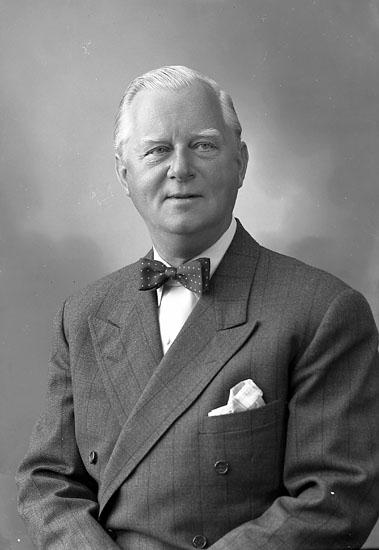 """Enligt fotografens journal nr 8 1951-1957: """"Wingård, Herr Harald Stampg. 38 Gbg""""."""