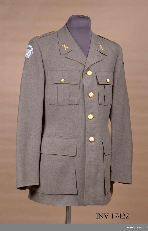 Grupp C I. Använd som tropikuniform av personal i FN-tjänst.