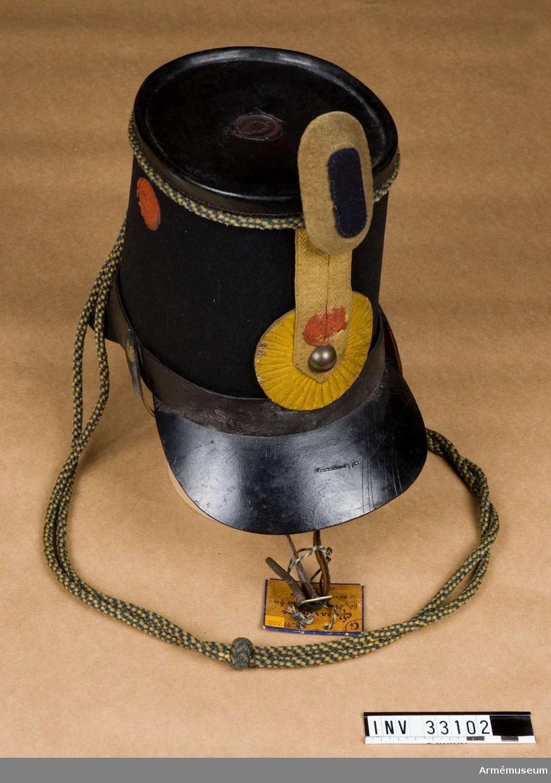 Husarmössa, manskap, Kronprinsens husarreg. 1847-53. Grupp C I.