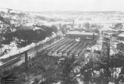 Eldsvådan vid Jonsereds fabrik 1904.