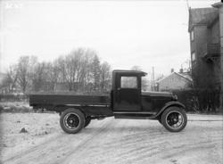 Lastbil Ford AA 1928-29 års modell med trådekerfälgar