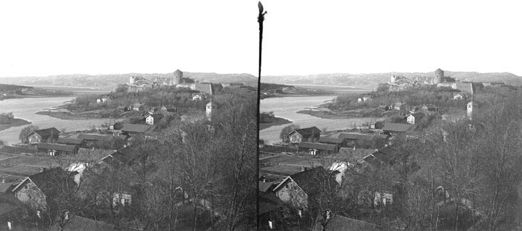 Kungelf (Stereo karta III) Utsikt från berget 25 Maj 1902.