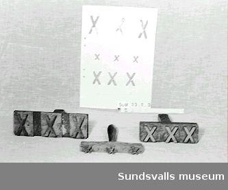skeppningsmärke för sågade trävaror klass VI