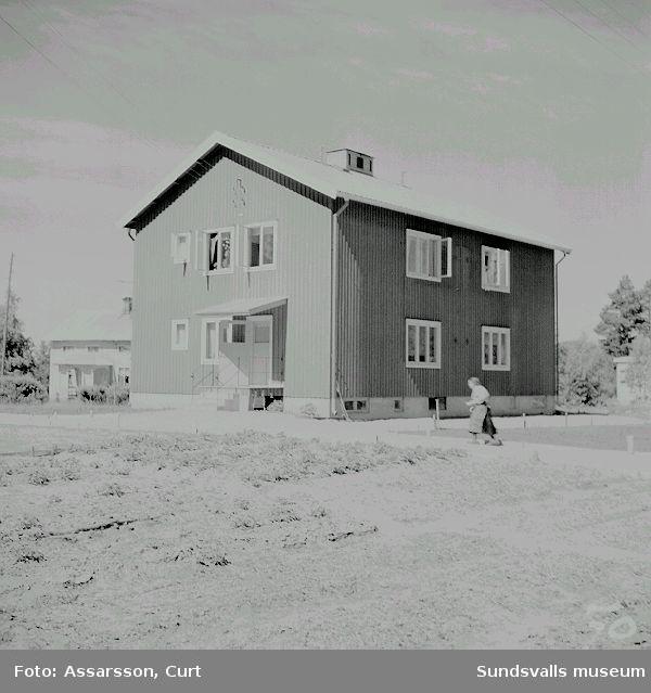 Pensionärshem i Övertuningen.