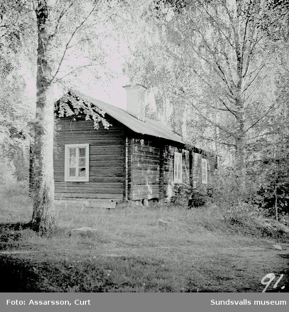 Den gamla smedsgården vid Österström.
