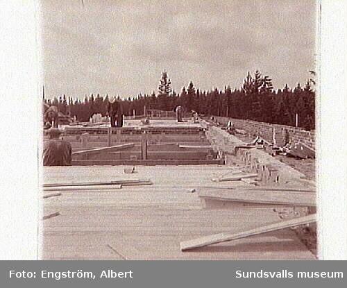 Uppbyggandet av Hagaskolan.