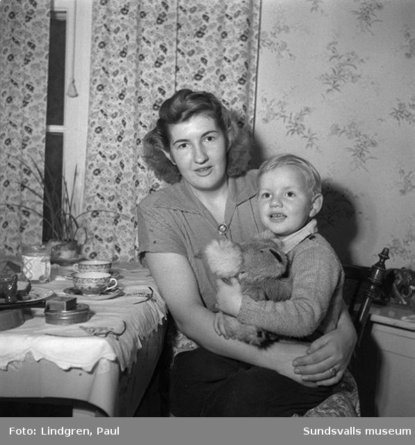 Herr Lundstedt med sin australienska hustru.