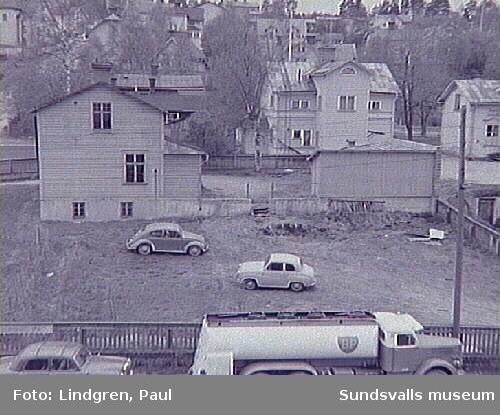 Ur Paul Lindgrens och Helge Höglunds Södermalmsinventering, genomförd 1963 på uppdrag av Hallström & Nisses. Albäcksgatan 29.