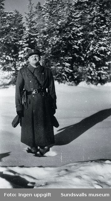 Bataljonschef major Fredriksen.