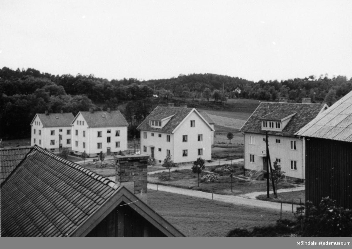 Fabriksbostäderna i Annestorp, 1950-tal.