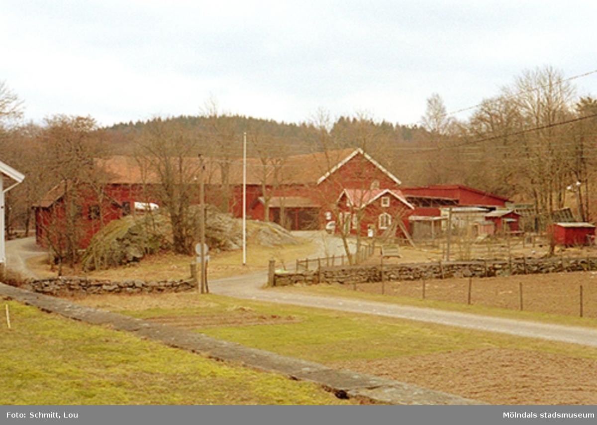 Ladugård/ekonomibyggnader tillhörande Gunnebo slott.