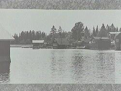 Vyer över fiskeläget, tagna av inventerare Torbjörn Lindgren