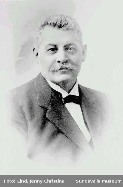 Sjökapten B. Alfr. Broman, Sundsvalls Gilles ordförande 1931-1938.