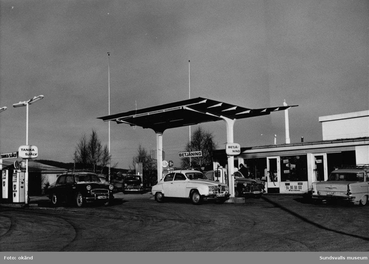 BP-stationen Bredbyn, Örnsköldsvik.