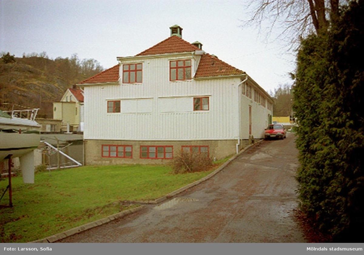 Byggnad 217 på Norra Forsåkersgatan 2B. Ett före detta intressekontor och gymnastiksal för Papyrusanställda.