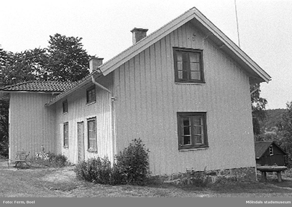 Hembygdsgården/Börjesgården i Hällesåker, Lindome 1992-06-29.