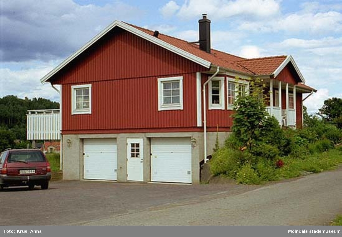 Ranntorp 2:2. Nybyggd villa i Ramsbo sedd från sydväst.