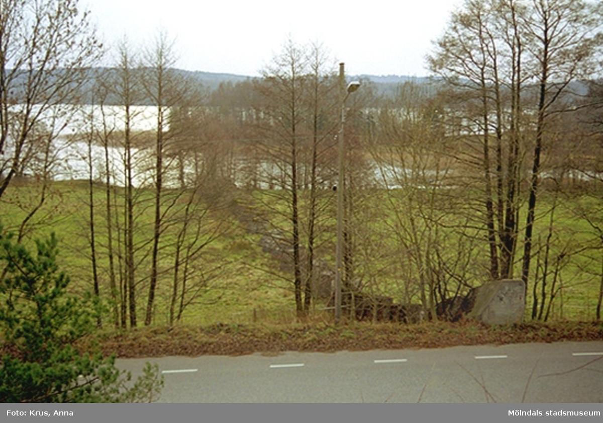 Stridsvagnshinder i Helenevik.