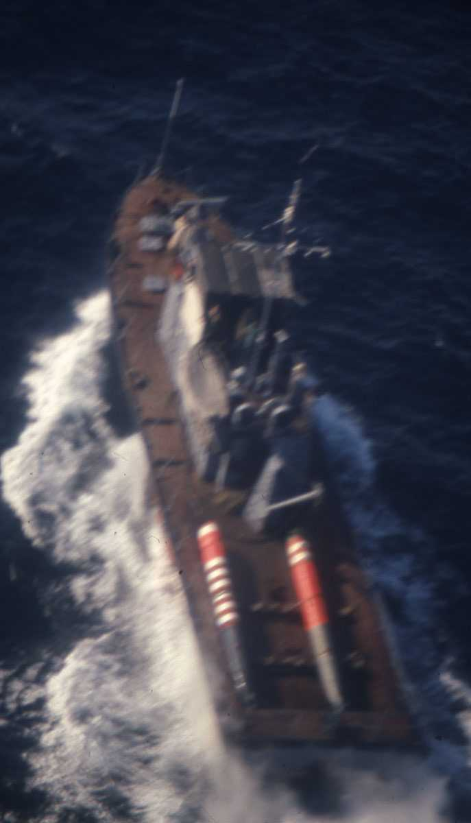 Russisk fartøy av Polushat - klassen.