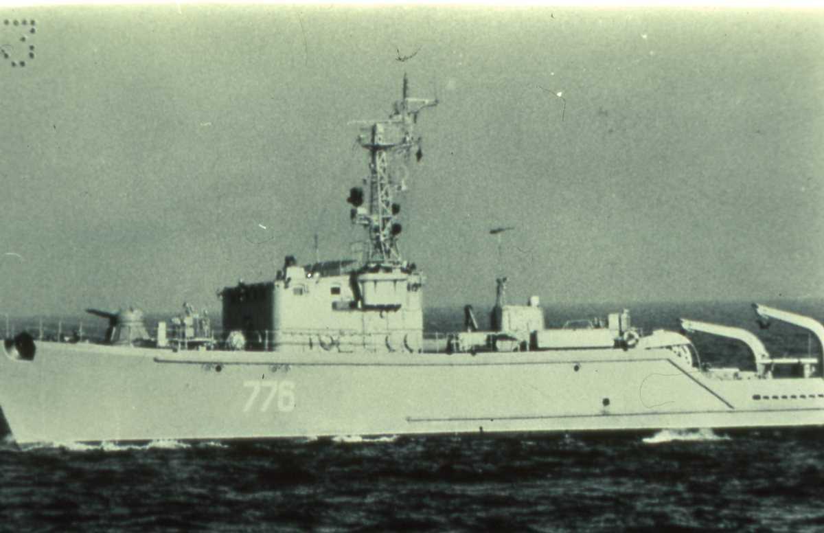 Russisk fartøy av Zhenya - klassen med nr. 776.