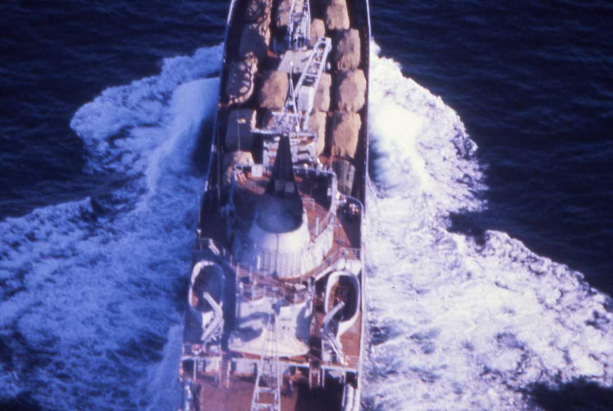 Russisk fartøy av Alligator - klassen.