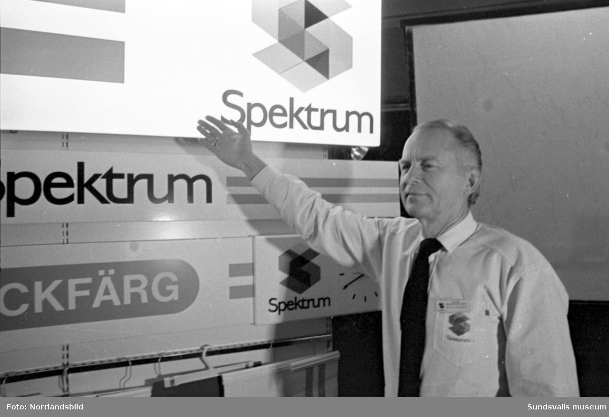 Spektrumbutikerna AB konfererar iStadshuset i Sundsvall.