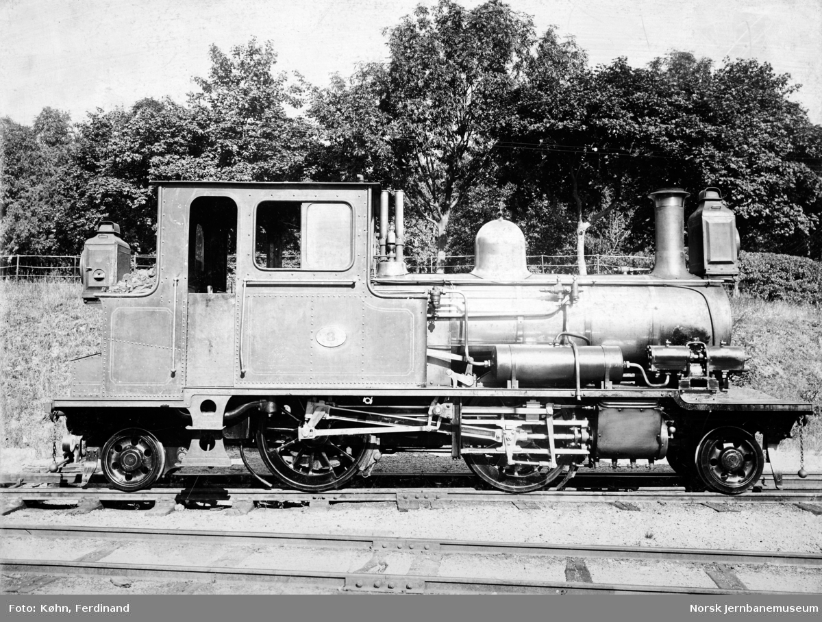 Setesdalsbanens damplokomotiv type XXII nr. 3
