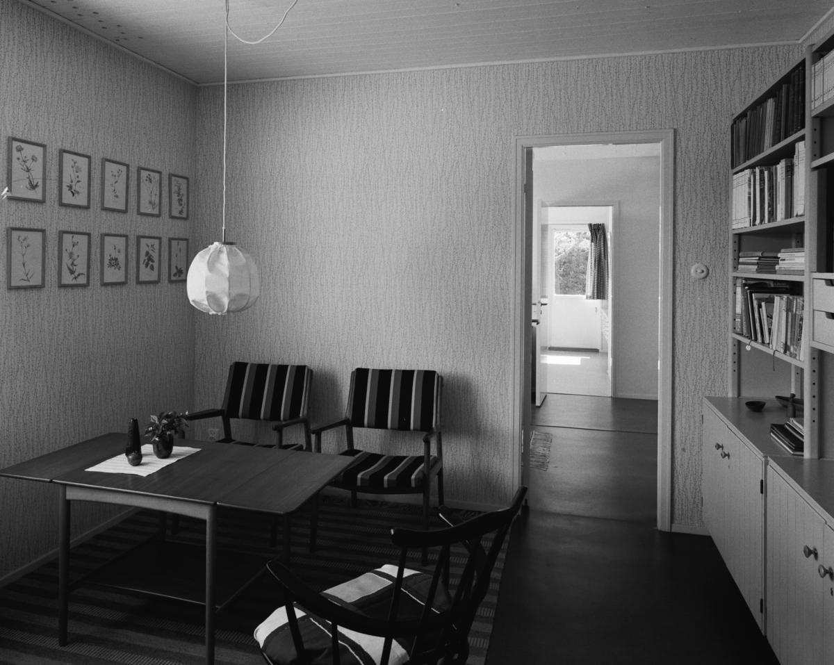 villa Ahnborg Interiör med danska hantverksmöbler