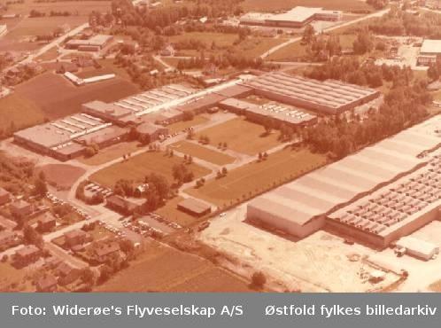 fabrikk, produksjon, vei, grøntanlegg, Rosenvinge Trio A/S,