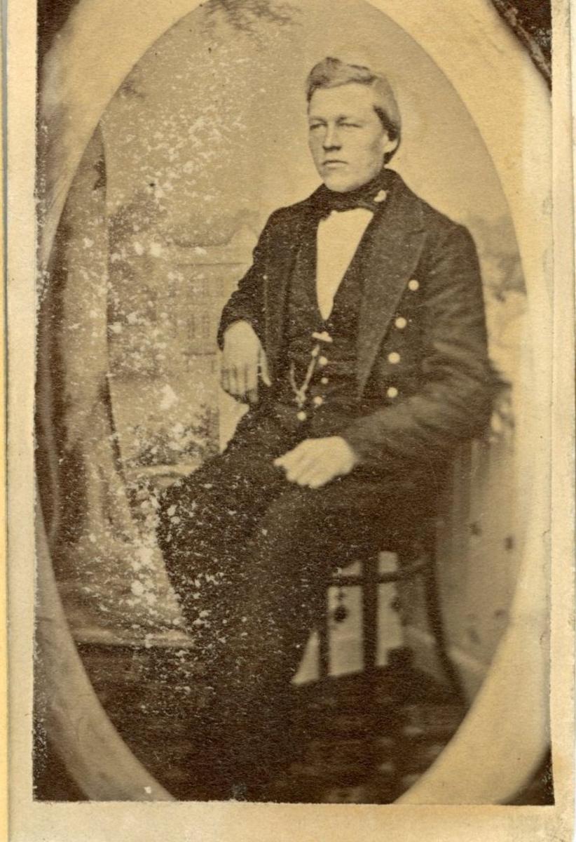 Portrett Olav A Sandok, fødd Gøytil