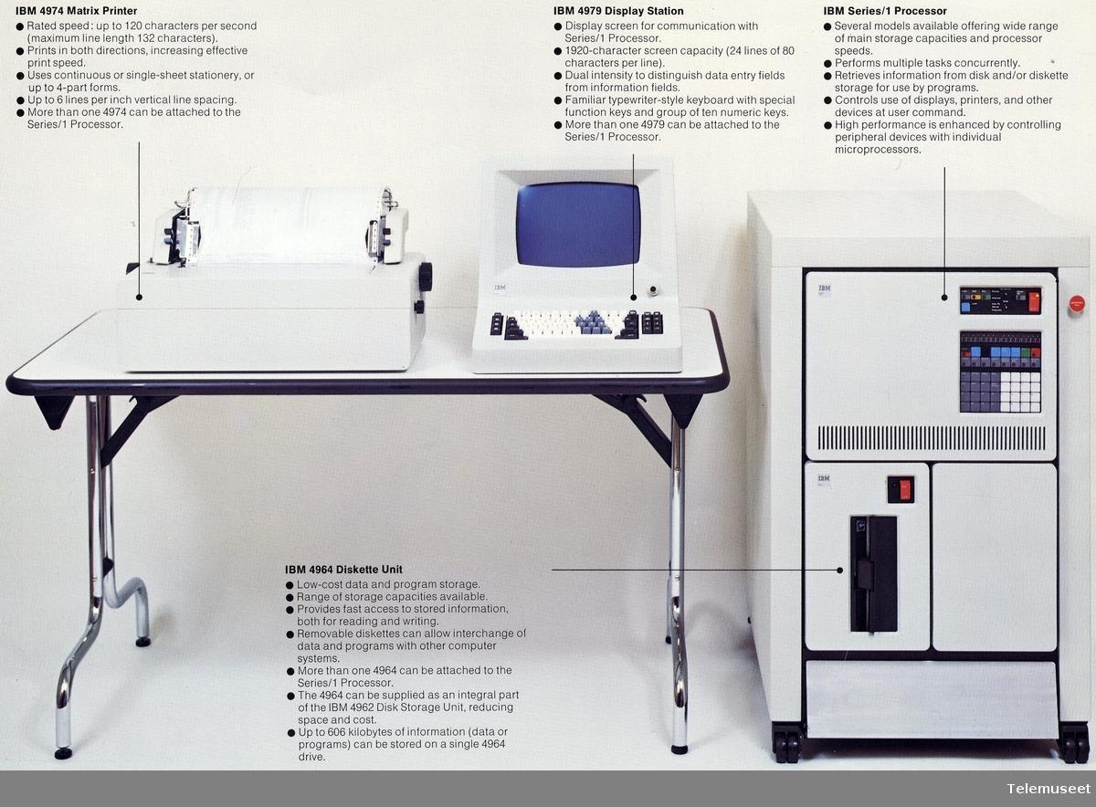 22.0 IBM - modell Series/1