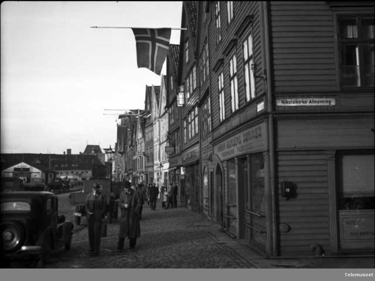Bryggen i Bergen, gatemiljø