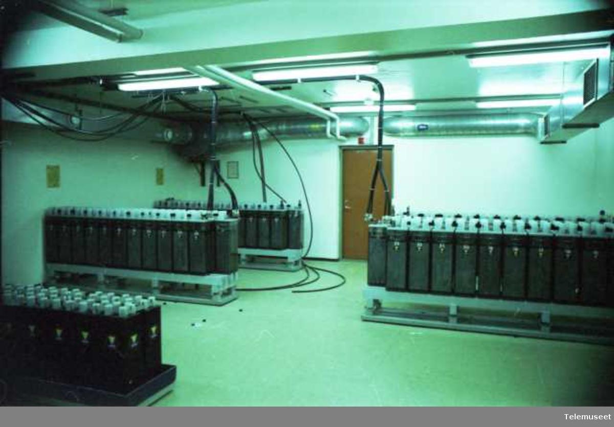 Fjellsikrinngsanlegg batterirom likeretterrom datasentral leger