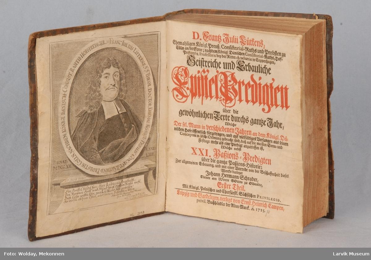frontispisbilde G.P. Busch,1716