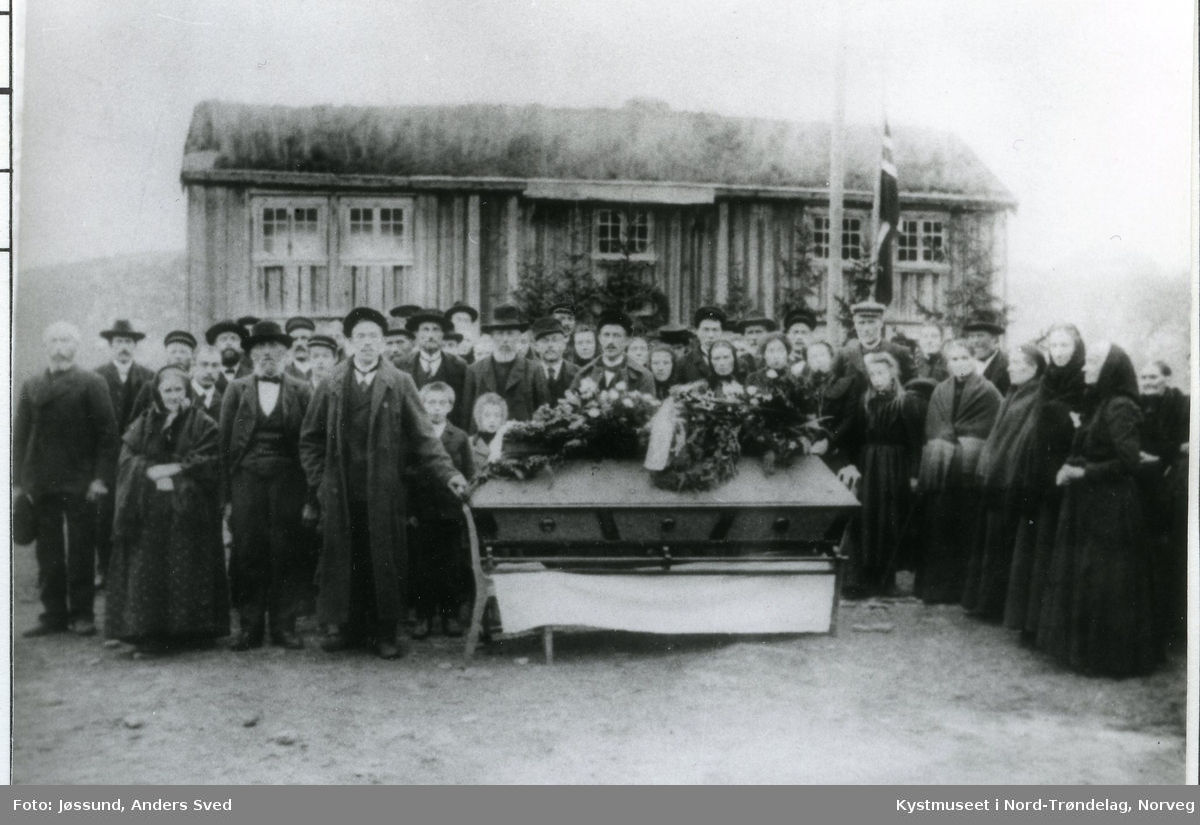 Elisabeth Jøssunds begravelse