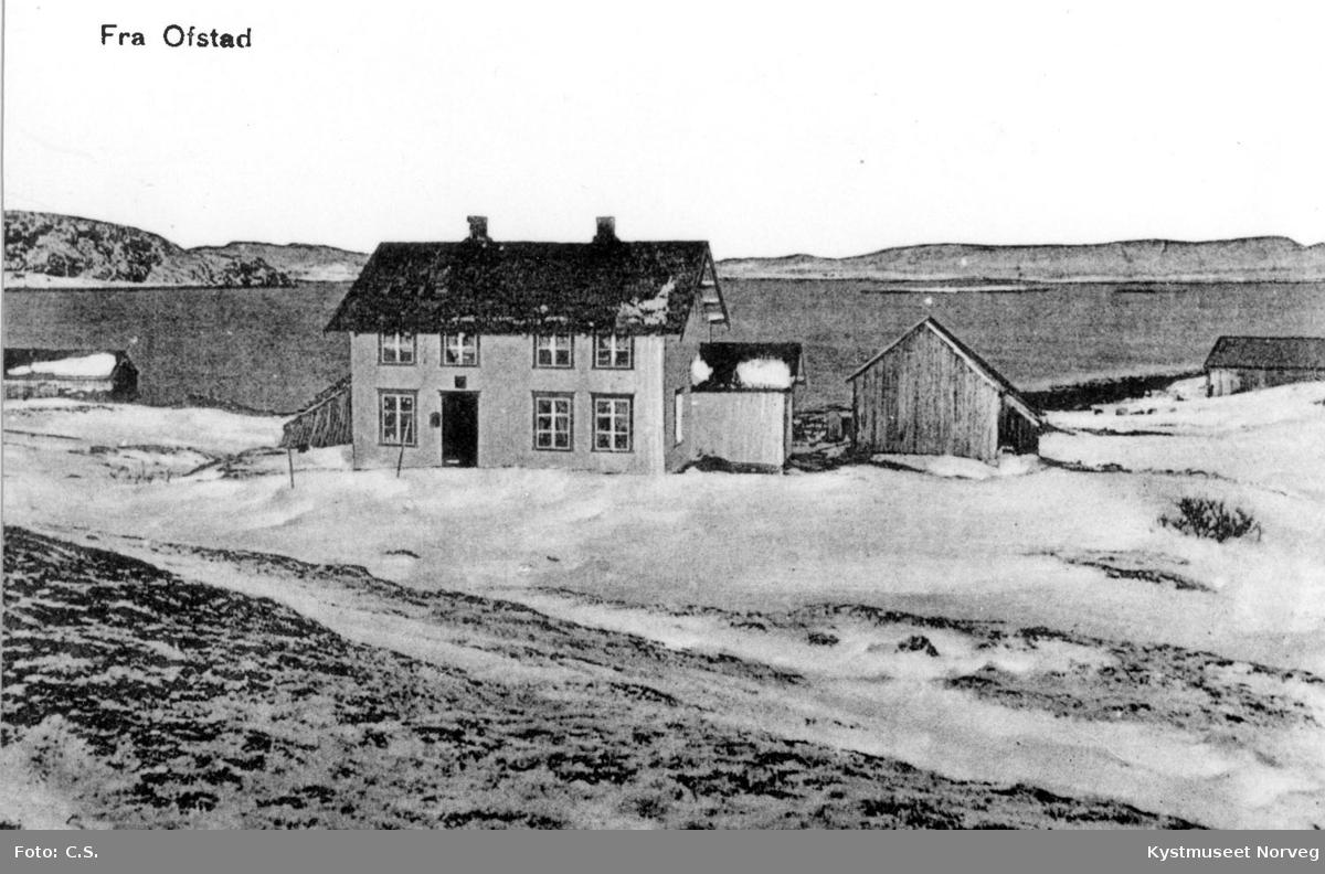 """Vikna, butikken ved """"Ofstadsjøen"""""""
