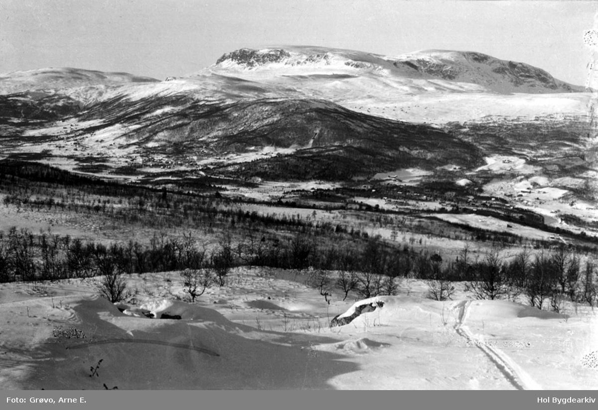 Tettstad, Geilo, vinter, Hallingskarvet, Havsdalen,