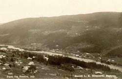 Tettstad, Ål, Sundre, gardsbruk, jernbanestasjon, Bergensban
