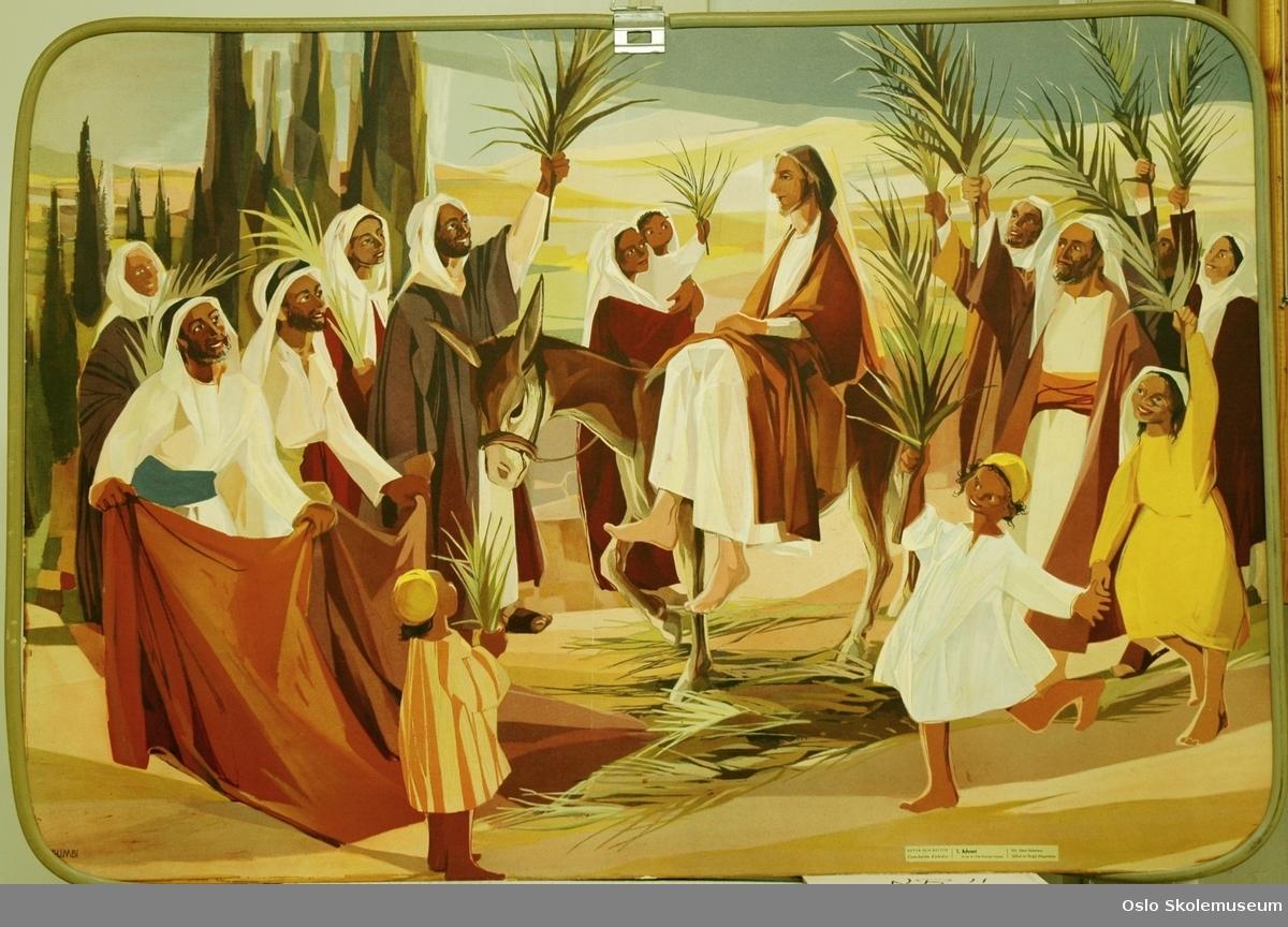 Bibelhistorie: Advent på den ene siden. Den hellig Mikaels dag på en andre siden.