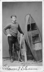 Edouard Stranne hos fotografen