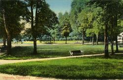 """Uddevalla. Gustafsberg, """"Parken""""."""
