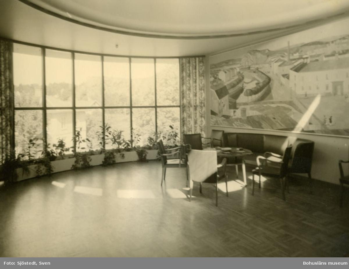 Konferensrum Tigerfabriken med målning av Gordon Macfie (1910-1971) utförd 1949