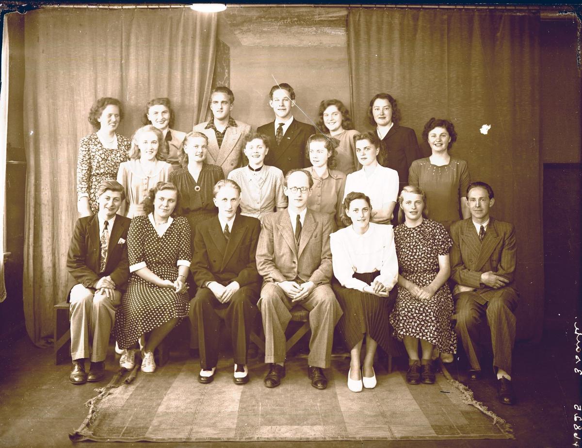 Gruppebilde - Holgersens Handelsskole