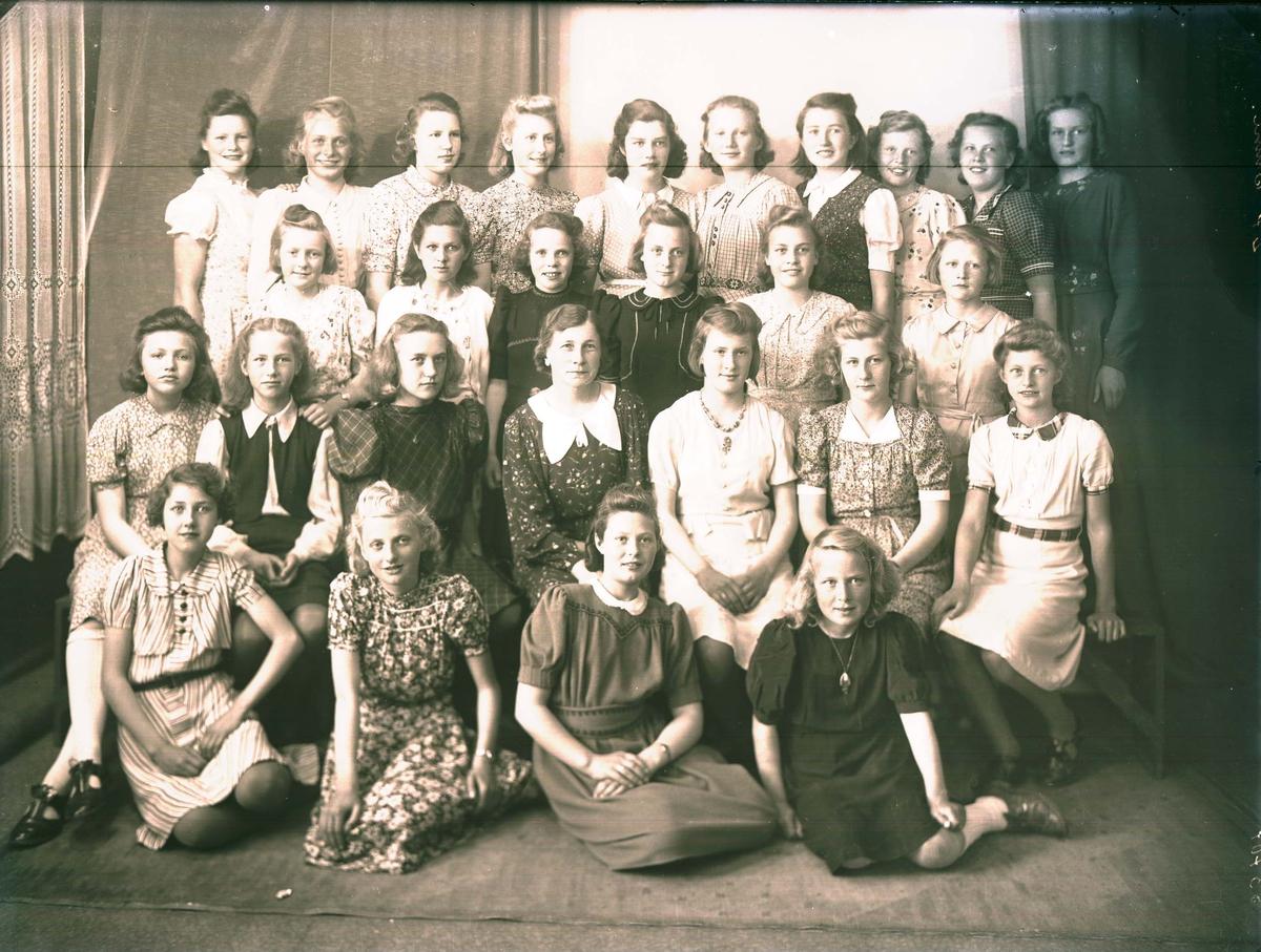 Gruppebilde - Skoleklasse- 7.klasse Lillesund skole.