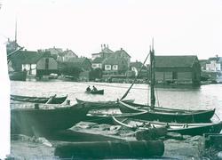 Havnemiljø - Dokken ca 1900.